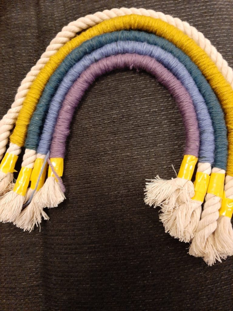 Measuring the next layer of the rope rainbow