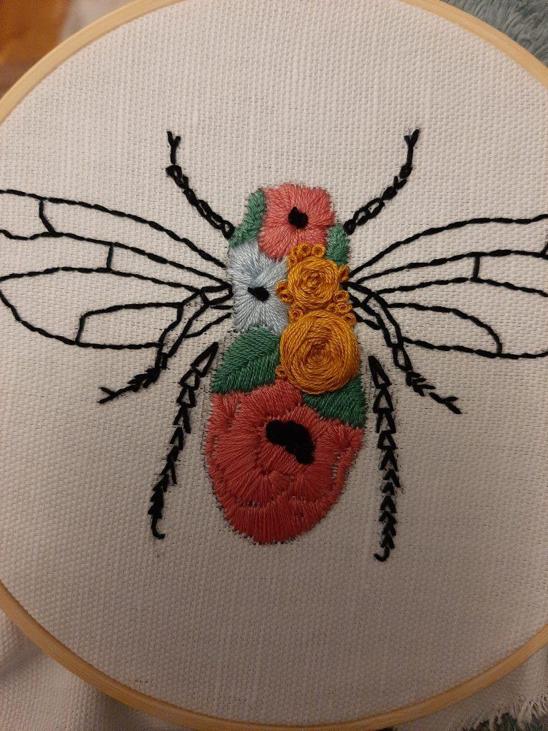 flowery bee